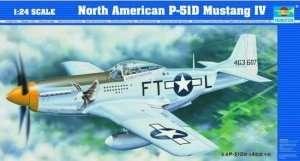 Model Trumpeter 02401 myśliwiec P-51D Mustang IV