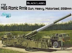 Dragon 7484 M65 Atomic Annie Gun, Heavy Motorized 280mm
