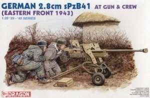 2,8cm sPzB41 AT gun and crew, Dragon 6056