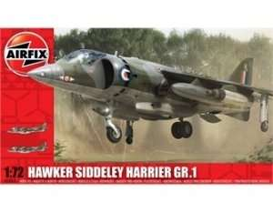 Model myśliwca Hawker Siddeley Harrier GR1 Airfix 03003