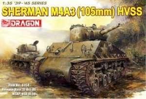 Dragon 6354 Czołg Sherman M4A3 (105mm) HVSS