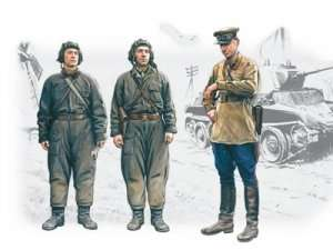 ICM 35181 Soviet Tank Crew (1939-1942)