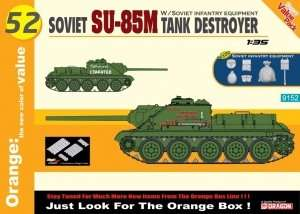 Dragon 9152 Soviet SU-85M Tank Destroyer