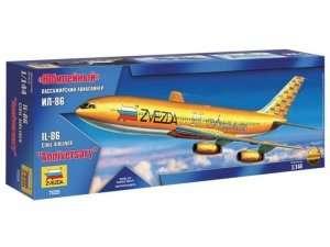 Model Zvezda 7025 samolot pasażerski Ił-86