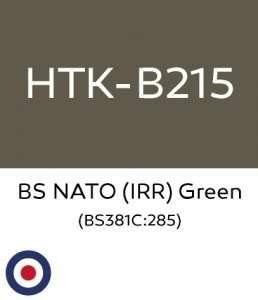 Hataka B215 BS NATO IRR Green - farba akrylowa 10ml