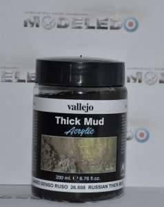 Vallejo 26808 Thick Mud - Russian Thick Mud