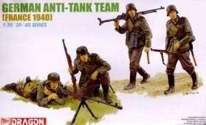 Dragon 6196 Figurki German Anti-Tank Team - Francja 1940