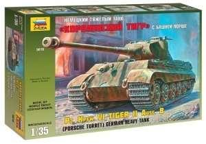 Zvezda 3616 Tank KingTiger Porsche