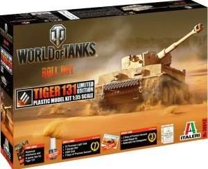 Model z serii World of Tanks - Tiger I 131 Italeri 36512