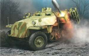Dragon 6861 Sd.Kfz.251 Ausf.D with 28/32cm Wurfrahmen 40