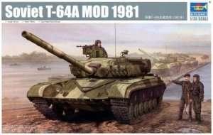Czołg T-64A Mod 1981 - model Trumpeter 01579