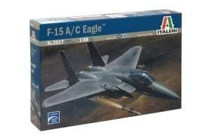 Italeri 2617 model myśliwca F-15 A/C Eagle