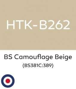 Hataka B262 BS Camouflage Beige - farba akrylowa 10ml