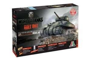 World of Tanks Italeri WOT tank M4 Sherman