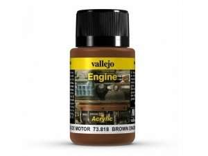 Vallejo 73818 Weathering Brown Engine Soot