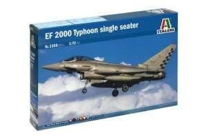 Italeri 1355 model myśliwca EF-2000 do sklejania