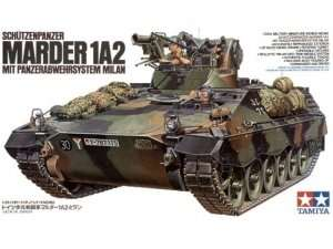 Tamiya 35162 German ICV Marder 1A2 with Milan