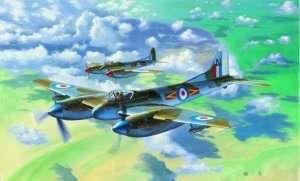 Trumpeter 02894 Samolot De Havilland Hornet F.3