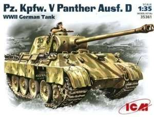 Model tank Pzkpfw. V Panther ICM 35361