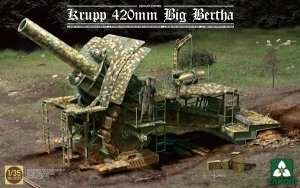 Takom 2035 Krupp 420mm Big Bertha