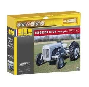 Heller 50401 Zestaw modelarski - Ferguson Te-20 Petit gris