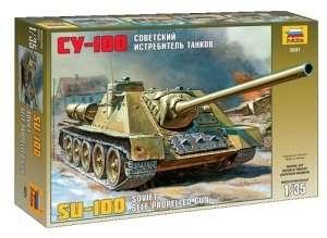 Zvezda 3531 Radzieckie działo samobieżne SU-100