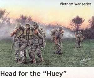 MB 35107 Figurki amerykańskich żołnierzy - Wietnam