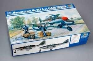 Trumpeter 02261 Messerschmitt Me 262 A-1a (Clear Edition)
