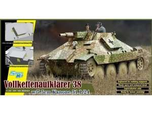 Model Vollkettenaufklarer 38 w/7.5cm Kanone 51 L/24