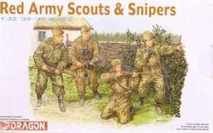 Red Army Scouts and Snipers - Dragon 6068