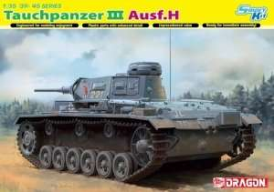 Dragon 6775 Czołg Tauchpanzer III Ausf.H