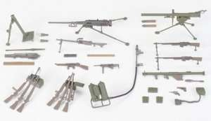 Tamiya 35121 U.S infantry weapons set