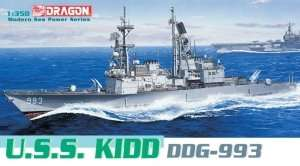 Dragon 1014 Okręt U.S.S. Kidd DDG-993