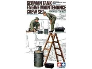 Tamiya 35180 German Tank engine maitenance crew set