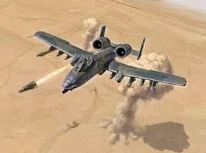 Italeri 1376 A-10 A/C Thunderbolt II  - Gulf War