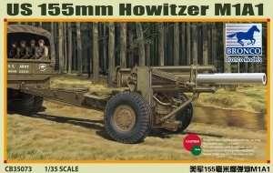 Model haubicy M1A1 155mm Bronco 35073