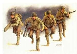 MB 3520 D-Day, Amerykańska piechota, 1944
