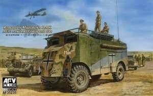 AFV 35235 Rommels Mammoth DAK AEC Armored Command Car