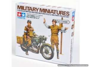 Tamiya 35316 British BSA M20 Motorcycle w/military police set