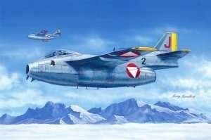 Model myśliwca Saab J-29F Tunnan Hobby Boss 81745