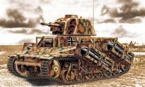 Trumpeter 00352 tank Hotchkiss H-39