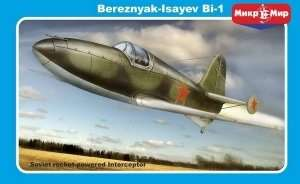 Samolot odrzutowy Bereznyak-Isayev BI-1 Mikromir 48010