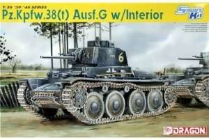 Dragon 6290 tank Pz.Kpfw.38(t) Ausf.G w/Interior
