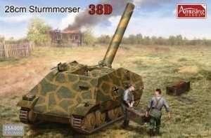 Samobieżny moździerz 280mm Sturmmorser Amusing Hobby 35A009