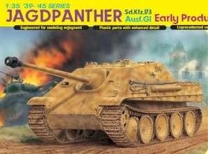 Model Dragon 6458  niszczyciel czołgów Sd.Kfz. 173 Jagdpanther Ausf.G1