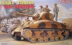 Dragon 6048 tank Sherman M4A1 75mm Early Version