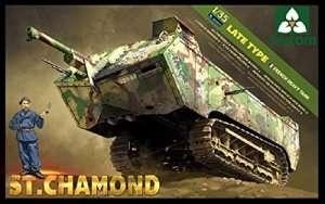 Model Takom 2012 French heavy tank St. Chamond late ver.