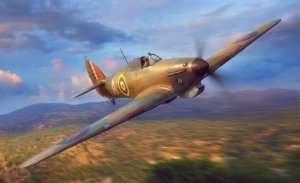 Fly 32017 Hawker Hurricane MkI Trop