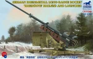 Bronco CB35048 German Rheinmetall Long-Range Rocket and Launcher