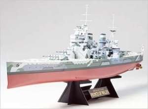 Tamiya 78011 British Battleship Prince of Wales